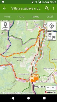 Jižní Morava - cyklostezky, cyklotrasy pro děti, mapa Map, Cards, Maps