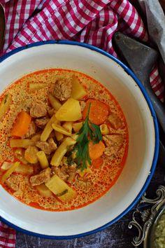 Kedvencünk, a palócleves Ketogenic Recipes, Diet Recipes, Vegan Recipes, Cooking Recipes, Keto Results, Veggie Soup, Hungarian Recipes, Breakfast Time, Keto Dinner