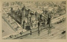 Le Louvre sous Charles V (XIVe s) @MuseeLouvre #Paris #histoire @museecarnavalet #FredericClad #THEFARM