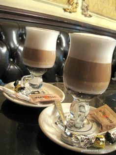 Budapest Cafes - If you're visiting Budapest, these historic cafes and coffee houses will satisfy your sweet tooth or cure your jetlag in traditional style.