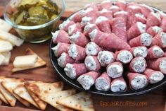 Salami Cornucopia - Erica's Recipes
