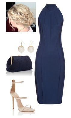 Blue by nikke9doors on Polyvore featuring polyvore fashion style Thierry Mugler Lipsy Mansur Gavriel River Island clothing