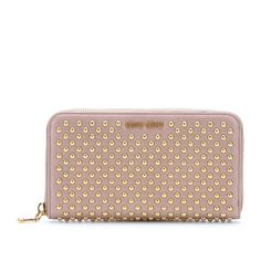 bedac4b9b3 Miu Miu Studded Pink Wallet it was a gift but it s authentic I have the  authenticity card. Been used gently. Miu Miu Bags Wallets Dieses Produkt  und weitere ...