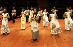 The Isango Ensemble from South Africa perform in the 2012 Globe to Globe season