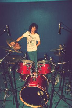 Giry The Rocker Drummer, Drum Session