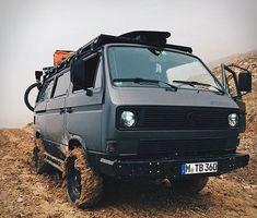 This Is The Ultimate VW Adventure Camper – offroad Vw Camper, Vw Bus, Volkswagen 181, Camper Life, Offroad Camper, Volkswagen Beetles, Vw T3 Westfalia, Vw T3 Doka, T3 Vw