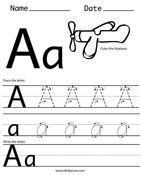 handwriting worksheet a z free printables writing literacy pinterest handwriting. Black Bedroom Furniture Sets. Home Design Ideas