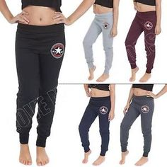 Womens Jogging Bottoms Converse Print Sportswear Ladies Joggers ...