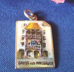 Seltener Bettelarmband Anhänger Innsbruck Emaile 800er Silber Charms Emaille | eBay, EUR 79,00