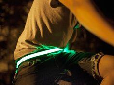 HALO - BRIGHT LED BELT by Vincent Pilot Ng
