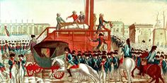 French Revolution painting of beheadings French History, Modern History, Louis Xvi, French Revolution Painting, Historia Universal, Epoch, Before Us, Napoleon, Techno
