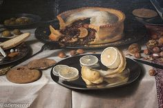Detail - Still Life with Turkey Pie, 1627 | Flickr - Photo Sharing!