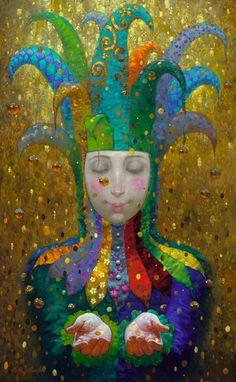 Виктор Низовцев 1965 | Ruso pintor Fantasía