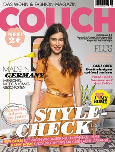 COUCH Ausgabe 06/2013 Couch, Party, Movie Posters, Italy, Settee, Film Poster, Popcorn Posters, Sofas, Film Posters