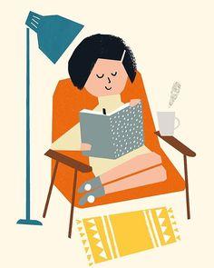 Ekaterina Trukhan #ReadingChair