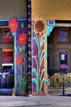 How whimsical - and I love mosaics