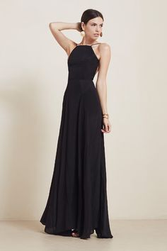 The Noelle Dress https://thereformation.com/products/noelle-dress-black
