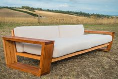 New range of indoor and outdoor exposed timber couches Bombora Custom Furniture Timber Furniture, Pallet Furniture, Custom Furniture, Furniture Design, Furniture Buyers, Furniture Ideas, Sofa Area Externa, Custom Couches, Wooden Sofa Designs