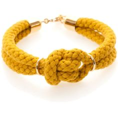 Sabrina Dehoff Unification Bracelet Double Gold Mustard ($77) ❤ liked on Polyvore featuring jewelry, bracelets, accessories, yellow, pulseiras, cherry, gold bracelet, gold jewelry, gold bracelet bangle and gold bangles