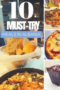 Must Try Meals in Albania #foodie #albania #travel