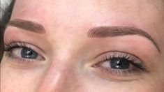 Creating brows for all different kinds of skin tones and hair colours!