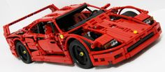 This Lego Ferrari F40 is the coolest