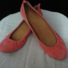 J.Crew ballet flats Coral color NWOT J. Crew Shoes