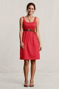 1d87cf81a1 Tabeez Women s Gauze Empire Waist Dress
