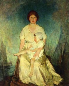 Charles Hawthorne: Mother Triumphant everything took place against the backdrop of the sea
