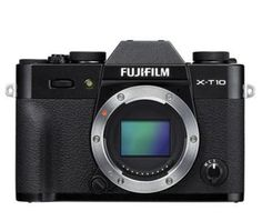 Fujifilm X-T10 Mirrorless Digital Camera Body, 16.3MP - Black. FUJIFILM X-T10, the latest premium interchangeable lens camera that joins the world-renowned X-Series digital camera line-up. The sleek FUJIFILM X-T10 delivers outstanding image quality, usability and portability for photo enthusiasts. http://www.specssite.com/Mirrorless-System-Digital-Cameras/popular.html