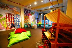 play children's play space