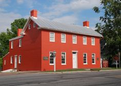The Levi Coffin House in Fountain City near Richmond, Indiana; a major underground railroad site.