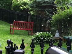 A beautiful view of the details our fence provides in any home project