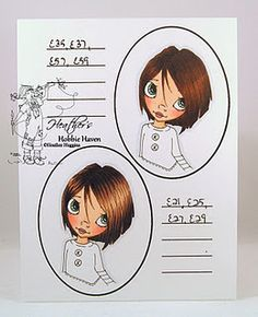 Hair color 8 - A great reference for hair coloring. :)