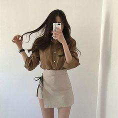 korean fashion aesthetic outfits soft kfashion ulzzang girl 얼짱 casual clothes grunge minimalistic cute kawaii comfy formal everyday street spring summer autumn winter g e o r g i a n a : c l o t h e s Korean Fashion Trends, Korean Street Fashion, Korea Fashion, Asian Fashion, Korean Outfits, Trendy Outfits, Girl Outfits, Cute Outfits, Fashion Outfits