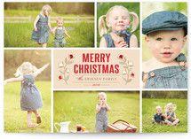 Christmas Blossoms Christmas Photo Cards