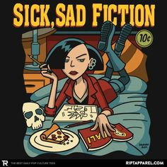 Sick Sad Fiction T-Shirt - Daria T-Shirt is $11 today at Ript!