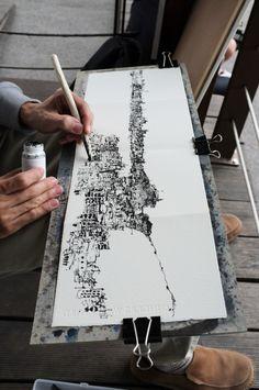 Kiah Kiean sketching