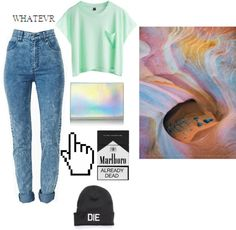 """""""cyberbabe"""" by queenclueless ❤ liked on Polyvore"""