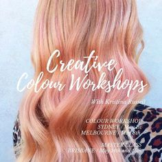 Looking for a creative colour workshop?Surry Hills resident #colourist @colourkristina has got you covered with her upcoming #colour #workshops and #masterclass.  First stop of her Education Tour is #Sydney on May 1st #Melbourne May 8th followed by her Masterclass in #Brisbane May 14 & 15th co-facilitated with @byronturnbull.  Head to her website http://ift.tt/1JReYw4 for full details for each location and to purchase your tickets! Only 10 tickets available per class…