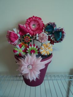 Large Hair Bowquet by cheerfuldianna80 on Etsy, $40.00