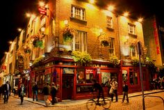 Dublin. The home of Guinness, Jameson, and the Temple Bar district. Enough said