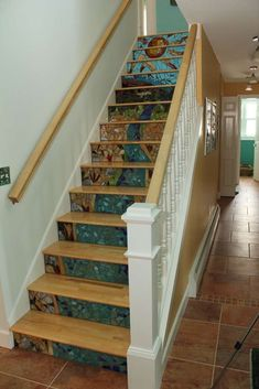 Tiles Glass Stairs