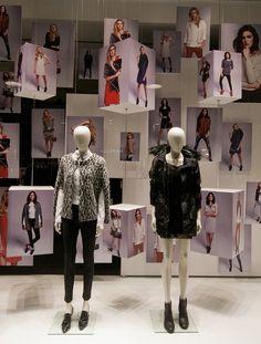 Motivi Fashion Week windows 2014, Milan - Italy