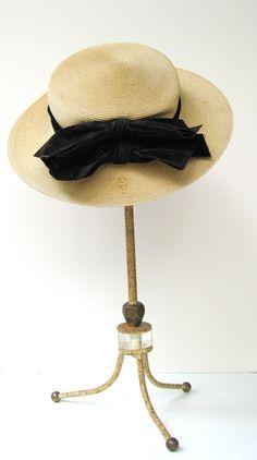 Victorian Child's Straw Hat...