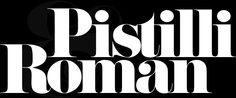 revival Pistilli Roman DF by DAYLIGHT FONTS