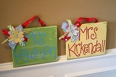 So cute for the classroom door/entry/etc! I want to make some for my teacher friends