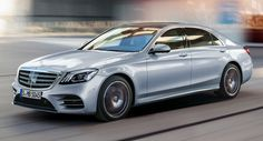 Mercedes Debuts Facelifted S-Class Ahead Of Shanghai Show