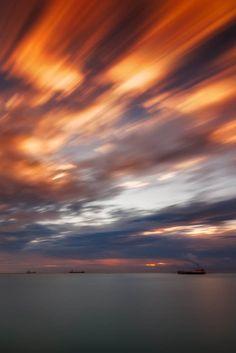 Cruise by Tomasz Huczek on Limassol, Amazing Sunsets, Cyprus, Hdr, Cinematography, My Photos, Cruise, Heaven, Clouds