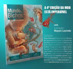 #capa #revista #4edicao #mdb #design #ilustracao #desenhos #ilustra